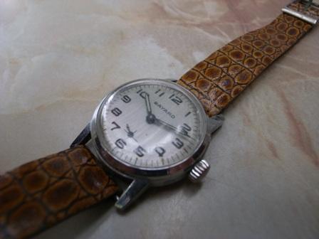 蚤の市で出会った腕時計