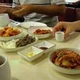 前菜キムチや砂肝 無料です!