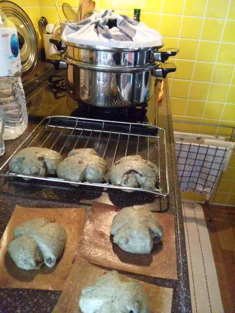 ヨモギ蒸しパン